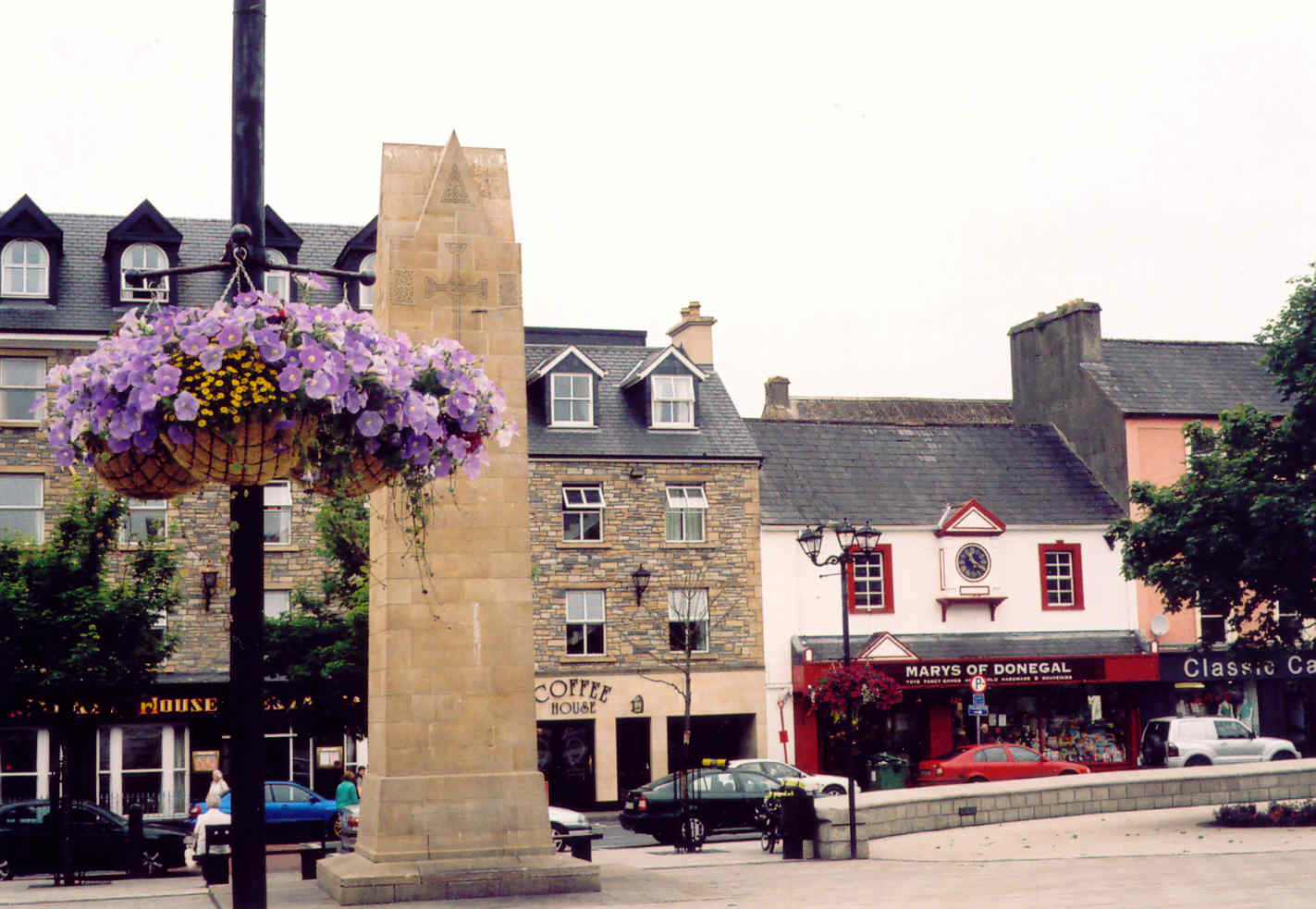 Four Masters Monument, Donegal Town Diamond.