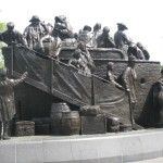 Irish Memorial, Front and Chestnut Streets, Philadelphia