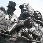 Irish Memorial, Front and Chestnut Streets, Philadelphia