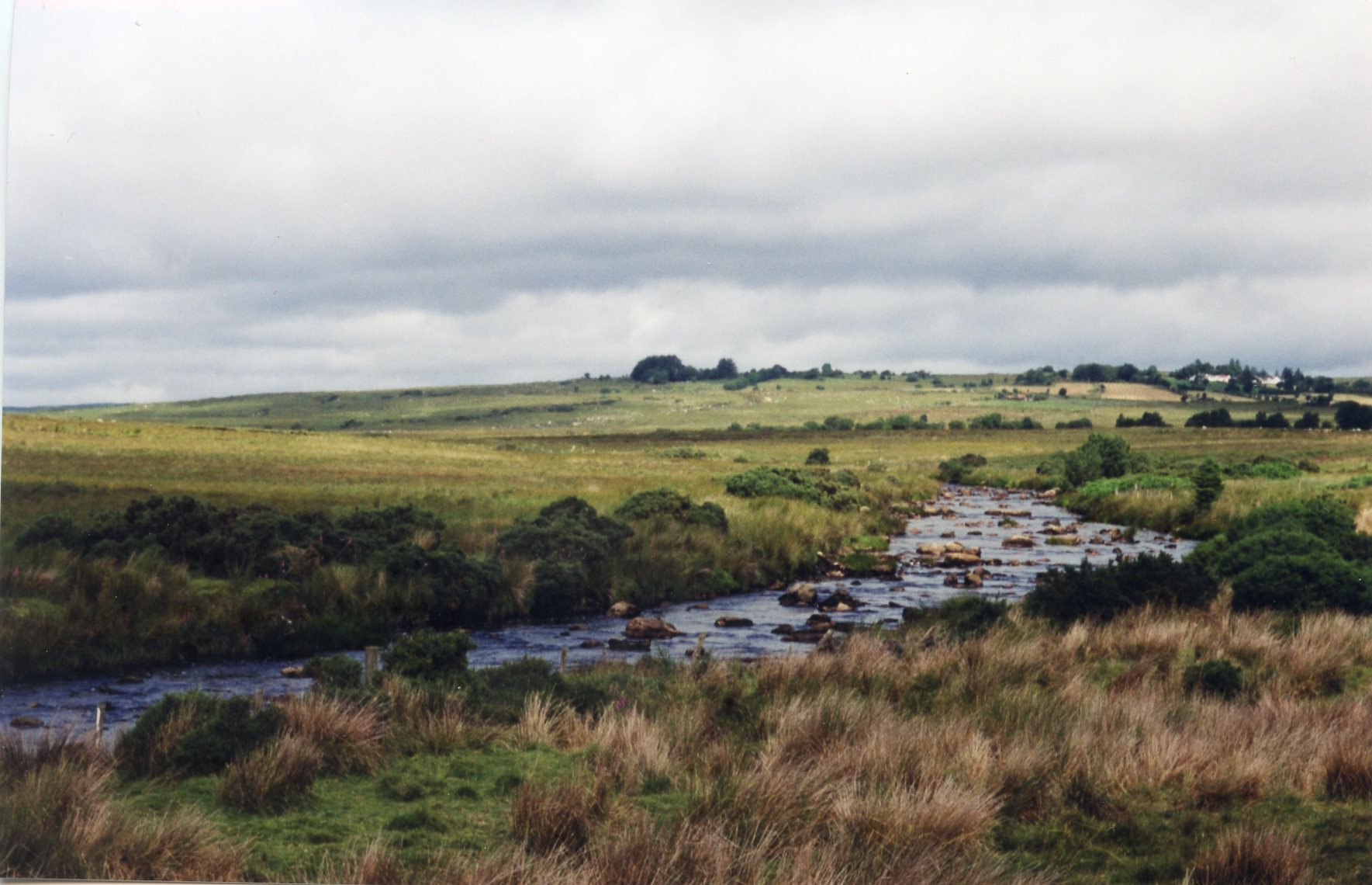 Mourne Beg River between Corgary and Meenreagh.