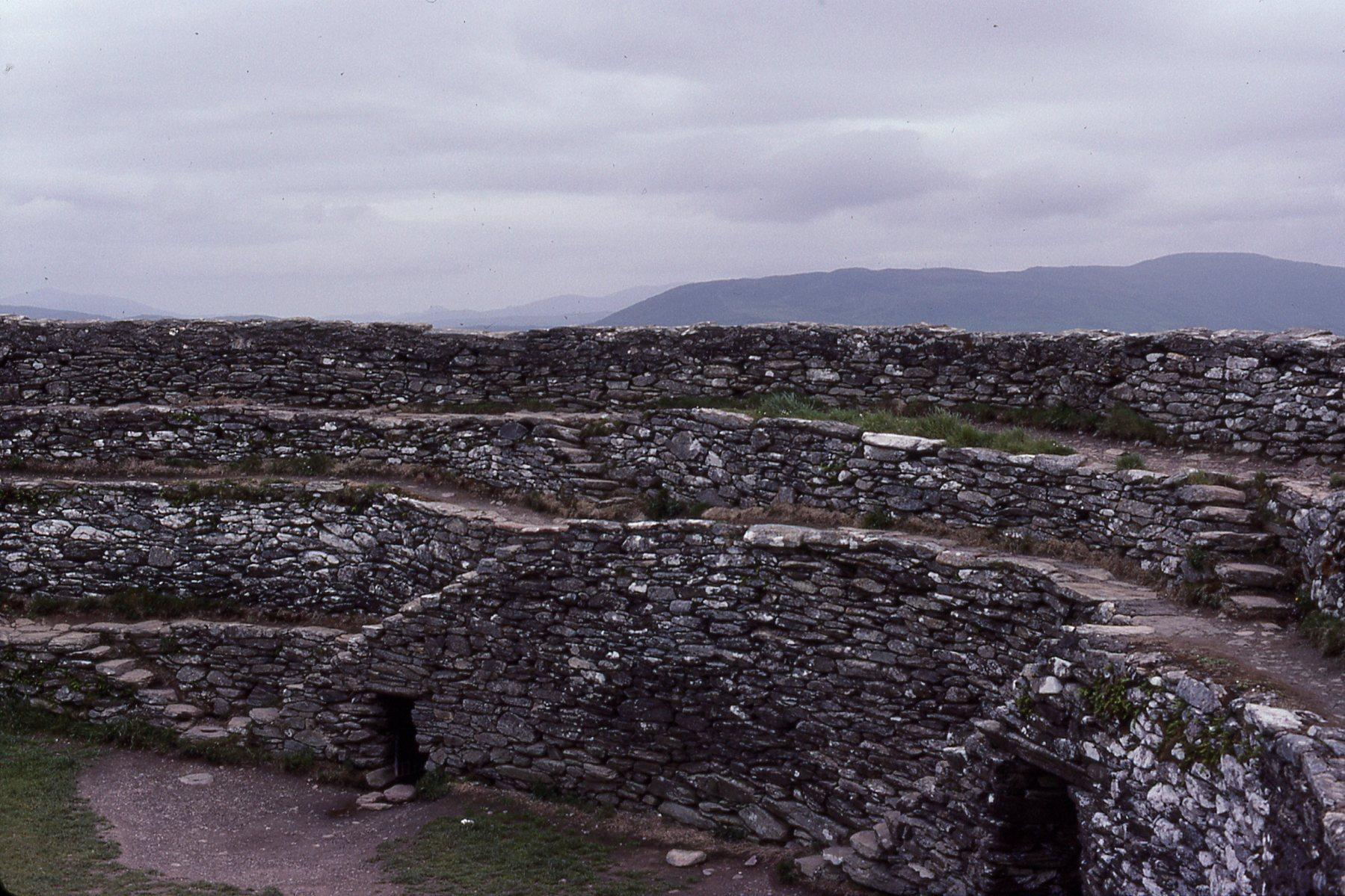 Grianon of Aileach built originally around 1800 BC.