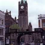 The Guildhall in Derry City (Londonderry)