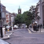 Shipquay Street In Derry from the Diamond