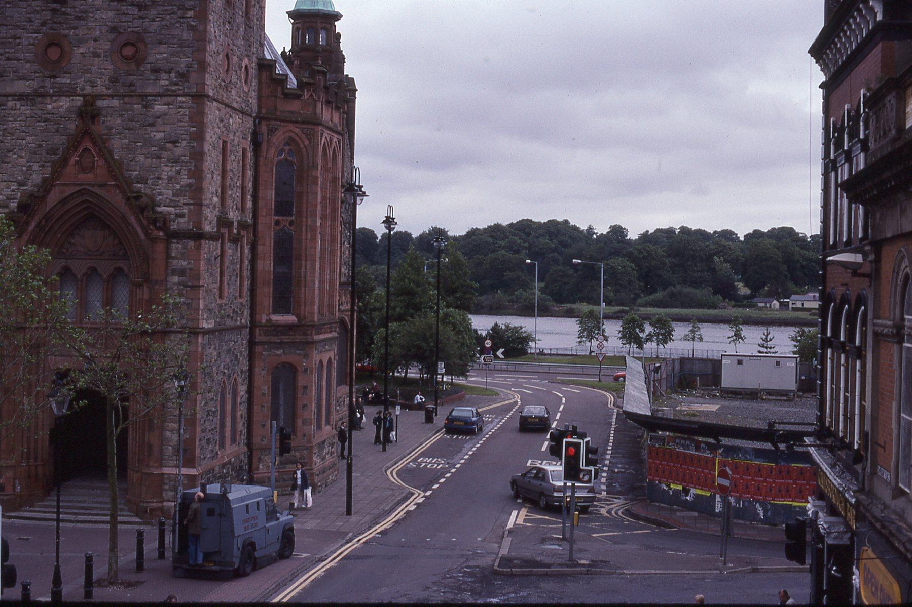 River Foyle in Derry