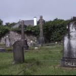 Graveyard at St. Patrick's at Crossroads.