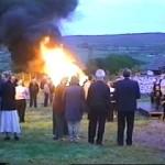 Midsummer Bonfire in Meenreagh Townland
