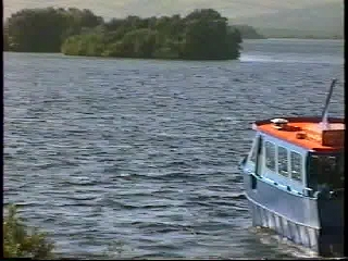 Boat to Station Island, Lough Derg, Donegal