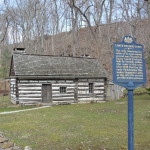 Cabin in Kellyville built by Swedish settlers at Darby Creek 1638-1655