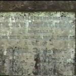 Memorial to Rev. Robert Delap at St. Anne's.