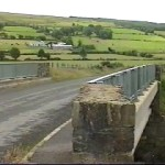 Meenreagh Bridge into Northern Ireland