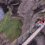 The Carrick-a-Rede Rope Bridge - County Antrim