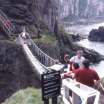 The Carrick-a-Rede Rope Bridge - County Anrim