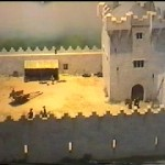 Model of Donegal Castle under the O'Donnells