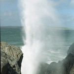 Water spout at Carrickabraghy