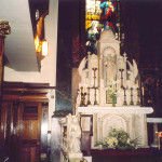 Altar at Long Tower Church